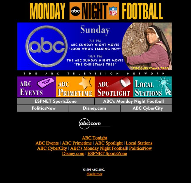 I'm glad to see that Monday Night Football has stepped its game up.