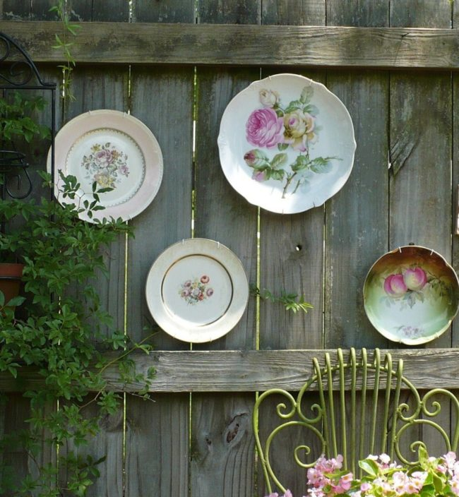 You can do the same with vintage china.