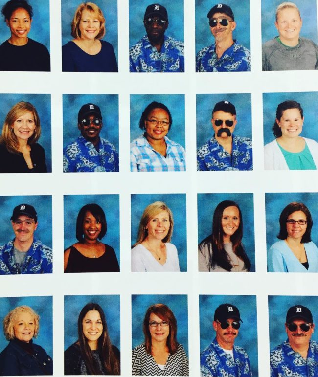 """These teachers take """"Magnum, P.I."""" seriously."""
