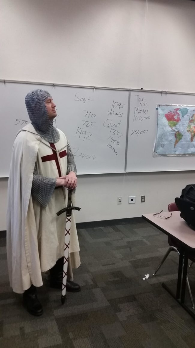 Why didn't my history teachers show up to class like this?