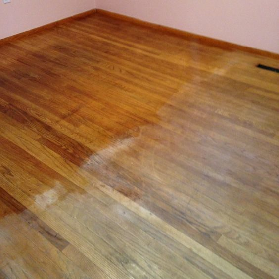 """No matter how well you clean and polish your floors, they will start to fade. Bring them back to life by rubbing them down with some <a href=""""http://www.amazon.com/Old-English-Furniture-Polish-Lemon/dp/B000PDHGX6?_encoding=UTF8&amp;tag=vira0d-20"""" target=""""_blank"""">Old English lemon oil</a>."""