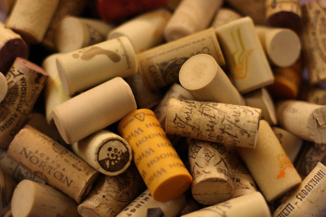 Cut up an old wine cork and glue it to the bottom of your furniture. This will prevent scuffs and scratches when you move things around.