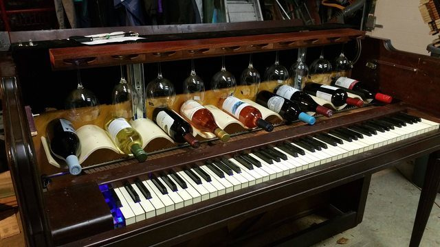 This Piano Might Not Make Music Anymore But Its New Job Is Pretty