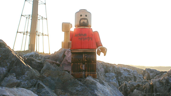 "This <a target=""_blank"" href=""http://imgur.com/a/9wEN4"">giant LEGO man</a> is so epic."