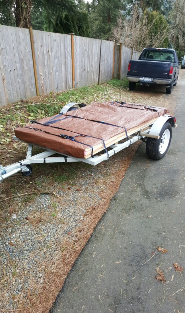 The Redditor took a trip to his local lumber yard and gathered some supplies.
