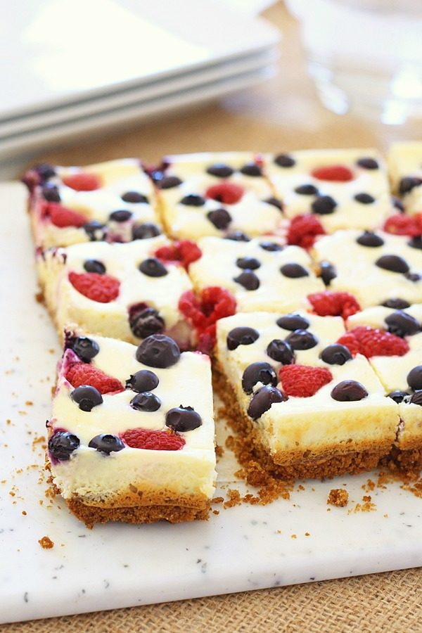 """<a href=""""http://rasamalaysia.com/berry-cheesecake-bars/"""" target=""""_blank"""">Berries and cheesecake</a> form a squad I think we can all be jealous of."""
