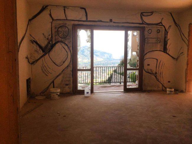 Palermo, Italy - Pizzo Sella Art Village