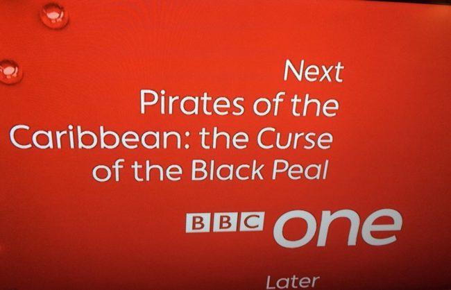 Beware the black peal!