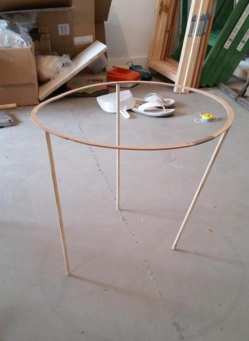 He Created His Own Lampshade Frame To Ensure That It Kept Its Shape