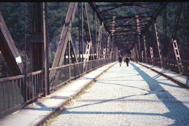 The bridge (pictured below) was about 60 feet from the water and normally would have been an easy dive for Beuc, who was an experienced jumper and skydiver.