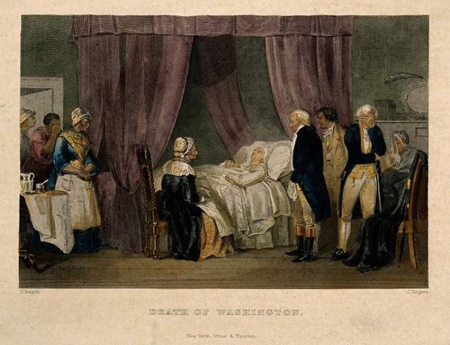 Despite the widely held belief that bloodletting improved people's health, it didn't. The most famous death attributed to bloodletting was that of George Washington in 1799.