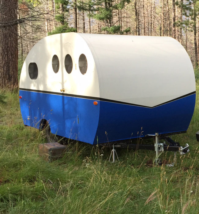 This DIY camper is cool enough from the outside, but wait until you see the interior.