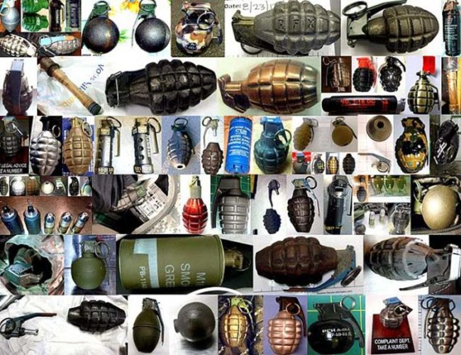 Think the attempted gun smugglers are bad? They're nothing compared to the attempted grenade smugglers.
