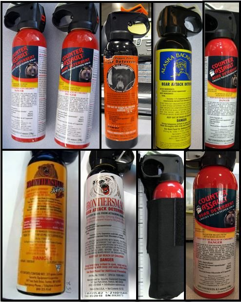 Just imagine someone actually trying to use bear spray in the enclosed environment of an airplane? No thanks.