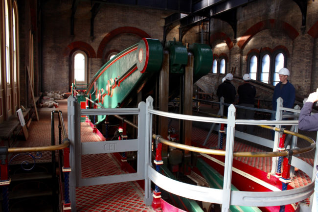 Crossness was the first of its kind, a sewage system that would use steam engines to pump the majority of London's waste into a 27 million gallon reservoir.