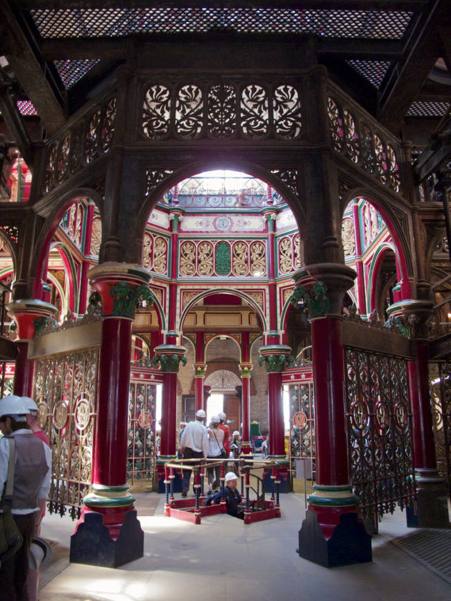 "Upon eliminating the ""Great Stink,"" the Crossness Pumping Station would remain fully-operational for nearly a century, until a rival treatment plant was built along the River Thames."