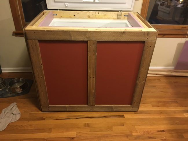 A coat of paint helped make it pop!