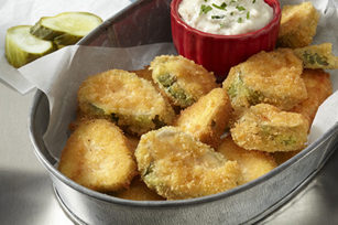 "As if I didn't love <a href=""http://www.snackworks.com/recipe/ritz-fried-pickles-165018.aspx"" target=""_blank"">fried pickles</a> enough already, I now know that I can use crackers as the crust."