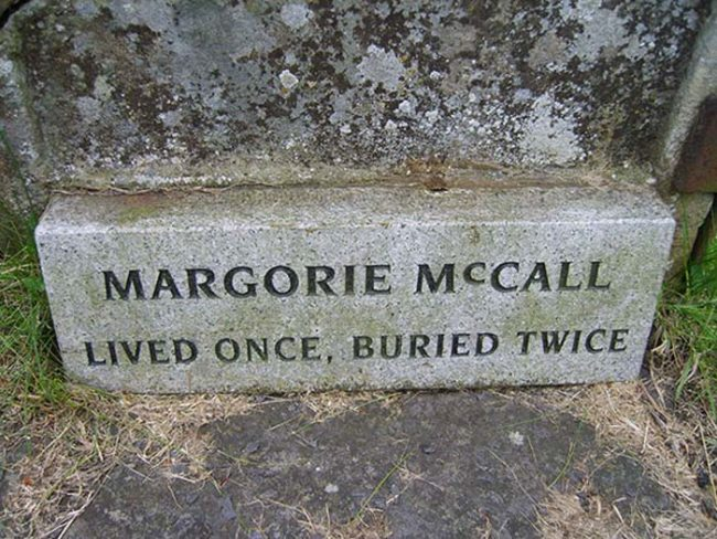 Surprisingly, McCall went on to live out the rest of her days in relative happiness. She even remarried and had several more children.
