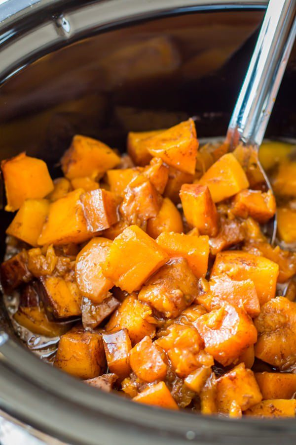 "Because there are<em> never</em> enough recipes for <a href=""http://www.themagicalslowcooker.com/2016/08/01/slow-cooker-cinnamon-sugar-butternut-squash/"" target=""_blank"">butternut squash</a>..."