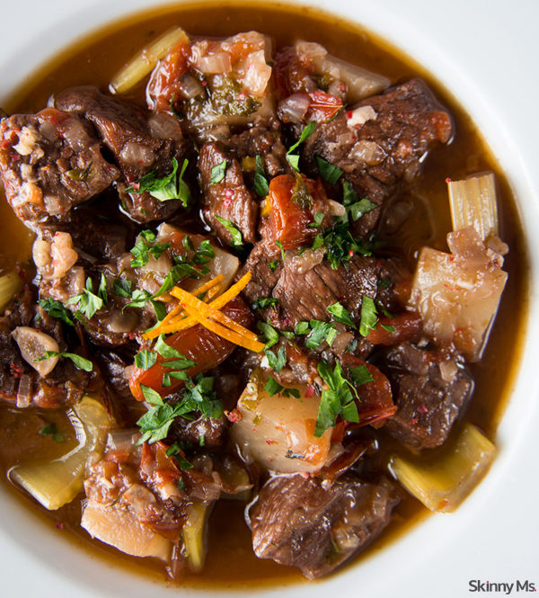 "Beef stew has become a fall staple -- but you haven't had the best until you've tried this <a href=""http://skinnyms.com/slow-cooker-thick-chunky-beef-stew-recipe/"" target=""_blank"">slow cooker recipe</a>."