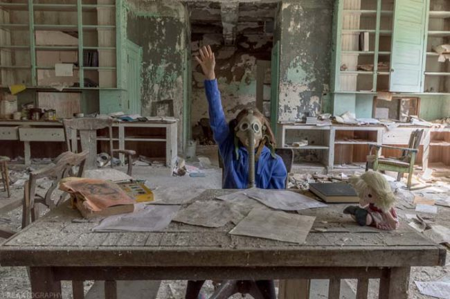 """Despite the wide-scale destruction, regardless of the damage, death and shutdown of life as it had been known, life must go on.