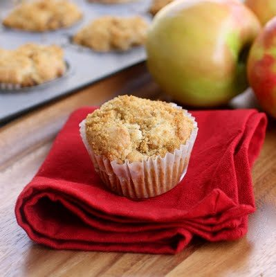 """The best kinds of <a target=""""_blank"""" href=""""http://www.the-girl-who-ate-everything.com/2010/02/apple-muffins.html"""">muffins</a> are made with apples."""
