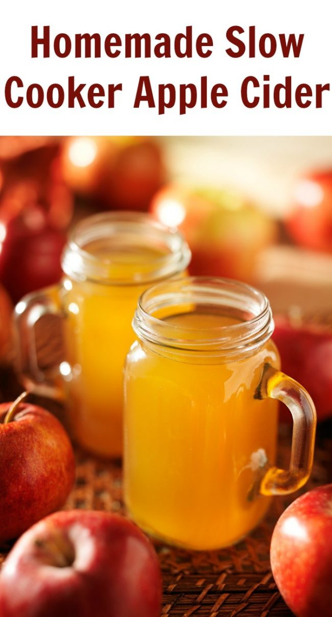 "This yummy <a target=""_blank"" href=""http://family.thinkingoutsidethesandbox.ca/home-made-slow-cooker-apple-cider/"">apple cider</a> is the perfect way to keep warm on chilly fall nights."