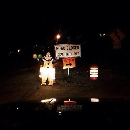 What is it with all these clowns?