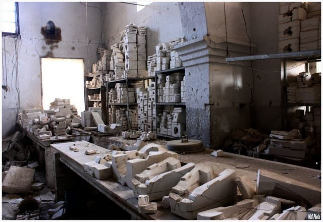 These formed various body parts for the dolls and filled practically every room.