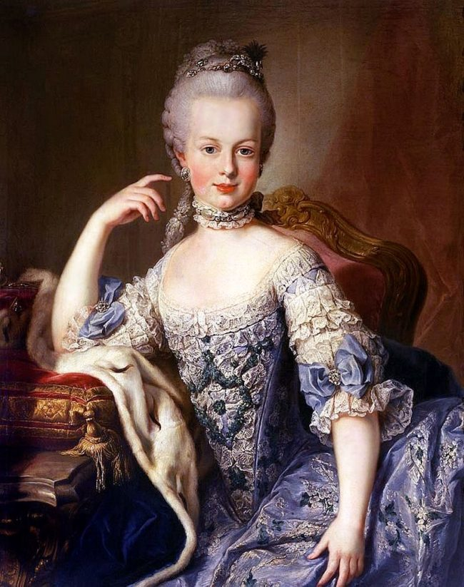 "Marie Antoinette said,""Let them eat cake."""