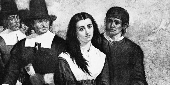 Those accused of being witches in Salem were burned at the stake.