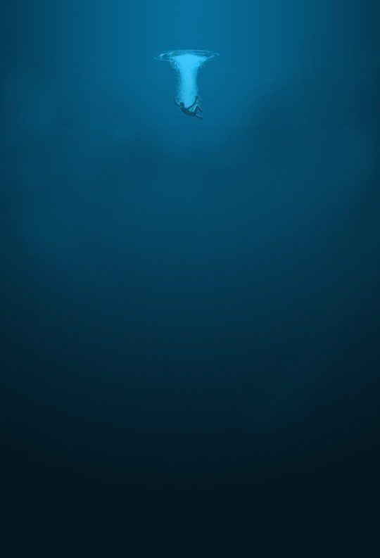 Have fun swimming in that deadly abyss.