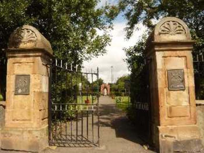 The legend of Margorie McCall begins at Shankill Cemetery in Lurgan, Ireland.