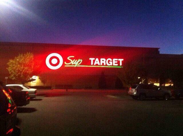 """""""Sup, Target. How <em>you</em> doin'?"""""""