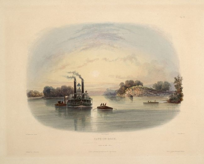"""The murderers, along with their wives and children, then joined criminal <a href=""""https://en.wikipedia.org/wiki/Samuel_Mason"""" target=""""_blank"""">Samuel Mason</a> and his gang for a short amount of time in southern Illinois and helped them rob boats moving along the Ohio River.  They were so brutal, though, that even the ruthless gang forced them to leave."""