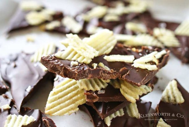 """On the other hand, you have <a href=""""https://www.pinterest.com/pin/260997740883487675/"""" target=""""_blank"""">potato chip bark</a>! This is getting out of control and I love it."""