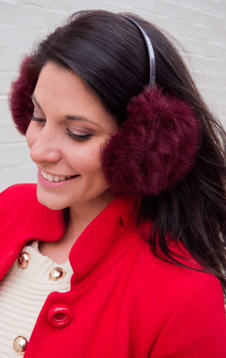 """I can't hear you. I'm too busy enjoying my <a href=""http://hautespotter.com/do-it-yourself-fur-ear-muffs/"" target=""_blank"">DIY earmuffs</a>."""