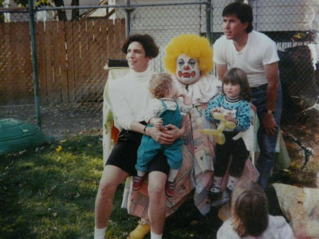 Why is it always the creepy clowns that get called in for birthday parties?