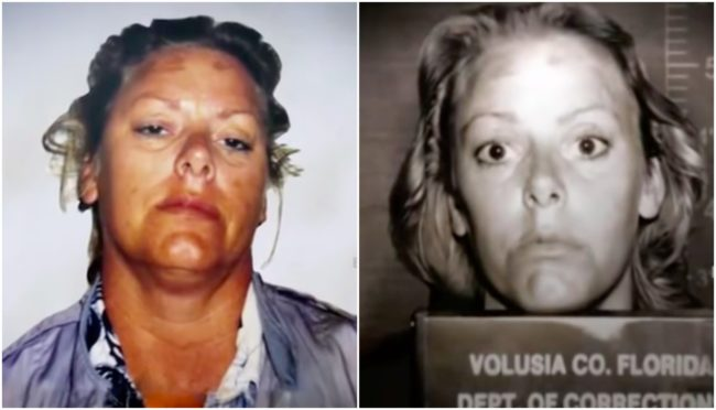 When she hitchhiked to Florida in 1976, she was arrested again multiple times over the years for several assaults, drunk driving, car theft, check forgery, and armed robbery.  One man even accused her of threatening him with a gun in his car in 1986.