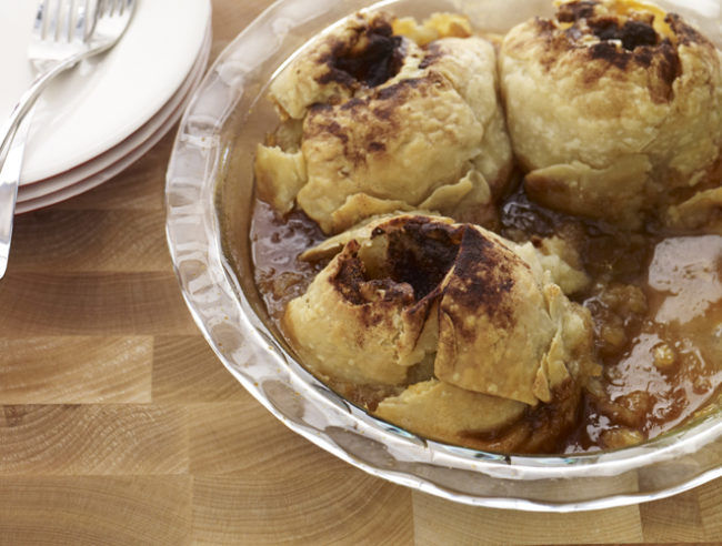 "I was going to my moms for Thanksgiving, but now I'll be headed wherever these <a href=""http://blog.bedbathandbeyond.com/bbb-recipe/apple-dumplings-cinnamon-caramel-sauce-recipe-2/?mcid=EM_Productcampaign_201512_EM_Productcampaign_Rolling_Newsletter_Offer_Offer&amp;rid=AR8Z60-72JDTF-I0VD29-RNWXCW3-GEE596-v1"" target=""_blank"">apple dumplings with cinnamon caramel sauce</a> are served."