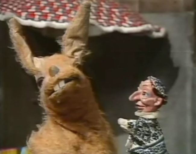 "A '70s kids' show called ""Pipkins"" has a character named Hartley Hare who, besides being generally creepy, gets extremely inappropriate in one episode."