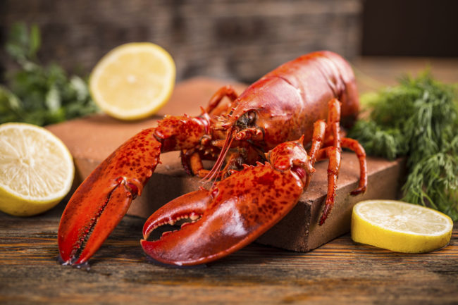 Lobster was considered poor people's food until it came into fashion, so to speak, after World War II.