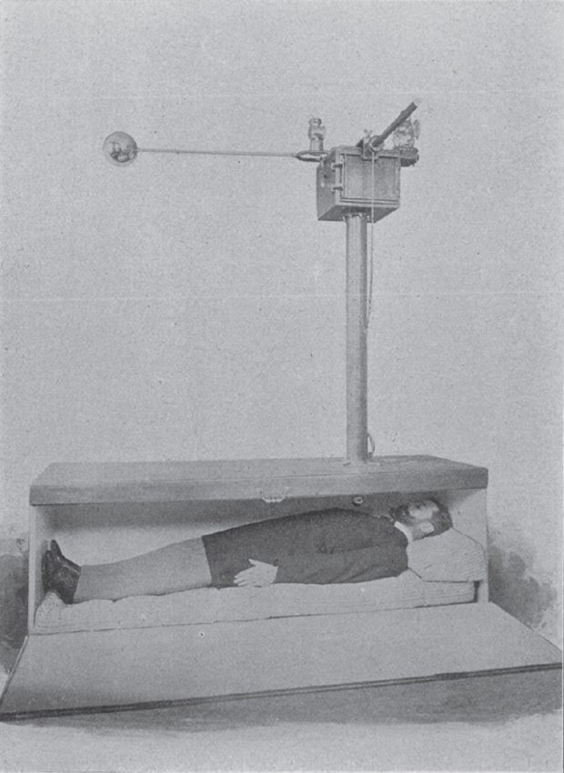 "As fear spread, Count Michel de Karnice-Karnicki patented a special ""safety coffin"" with a variety of extra features intended to free people from six feet under."