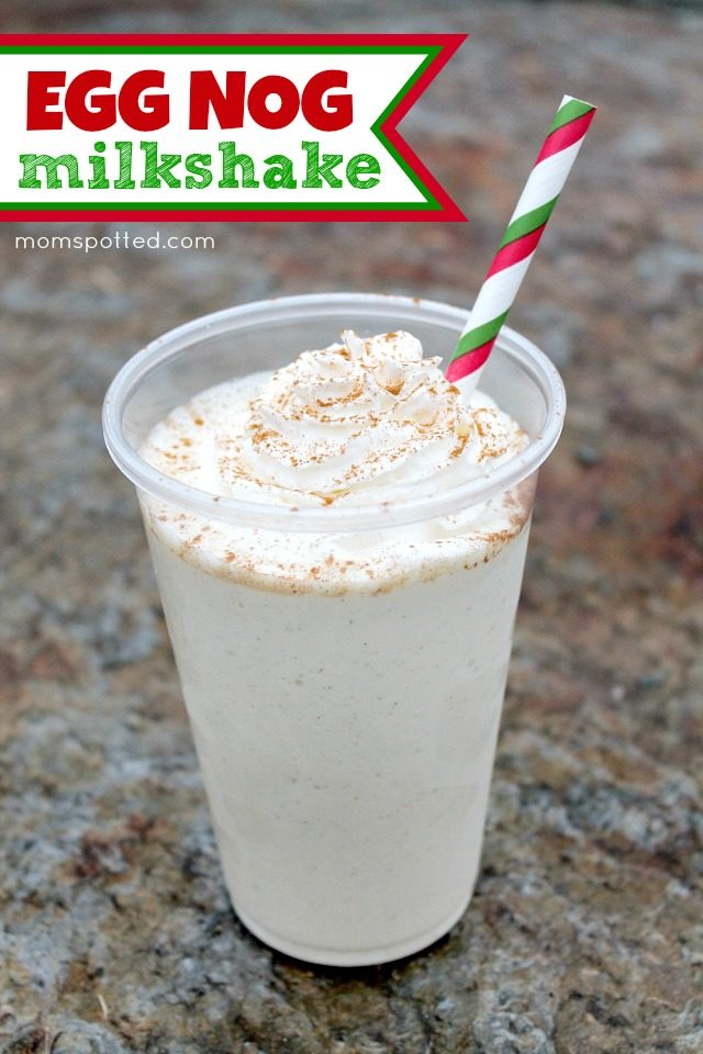"I hear eggnog tastes better when you mix it with ice cream and blend it together into a delicious <a href=""http://momspotted.com/2014/12/easy-eggnog-milkshake-recipe.html"" target=""_blank"">milkshake</a> -- but that's true with everything."