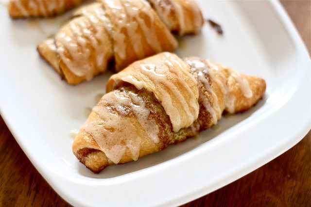 "Everything is better with <a href=""http://www.thehungryhousewife.com/2012/03/crescent-cinnamon-rolls.html"" target=""_blank"">cinnamon and sugar</a>."