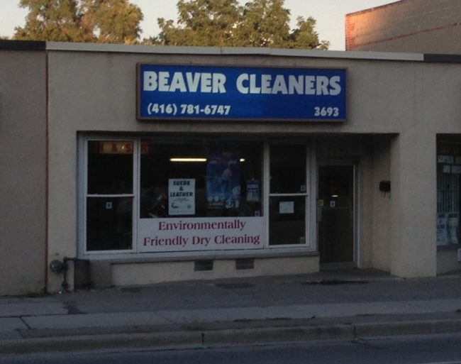 I think most people would prefer cleaning their beavers at home.