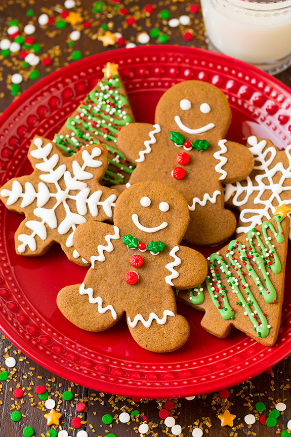 "There's nothing more classic than a good <a href=""http://www.cookingclassy.com/gingerbread-cookies/"" target=""_blank"">gingerbread man</a>."