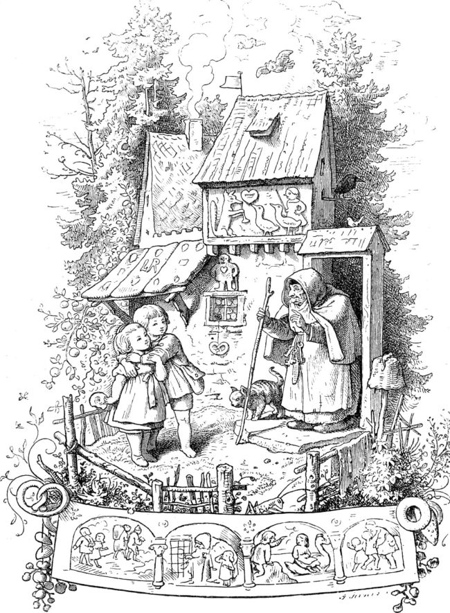 "However, gingerbread houses didn't actually become popular in the U.S. until the Brothers Grimm wrote  their morbid story of ""Hansel and Gretel."""