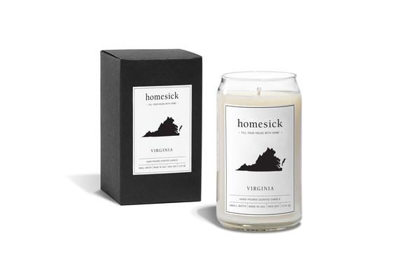 """If you have a friend or family member who is missing their home state, check out these <a href=""""https://homesickcandles.com/"""" target=""""_blank"""">homesick candles</a>. There's one for each state, but order quickly! Many are already out of stock until after the holidays."""